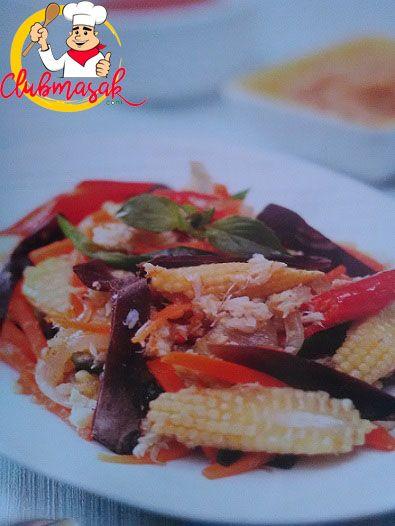 Resep Tumis Rajungan Sayuran, Resep Masakan Sehari-Hari Dirumah, Club Masak
