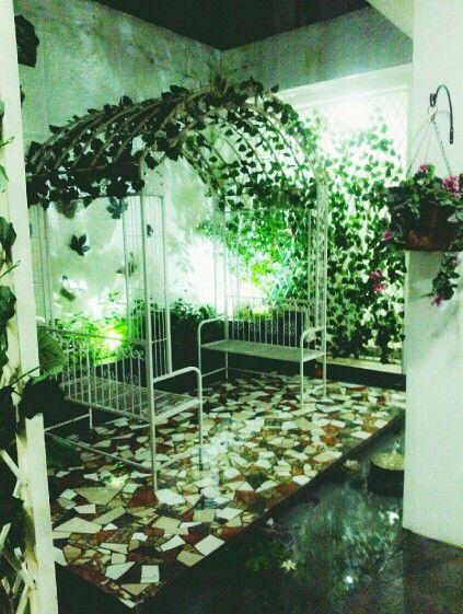 HUK Garden interior...