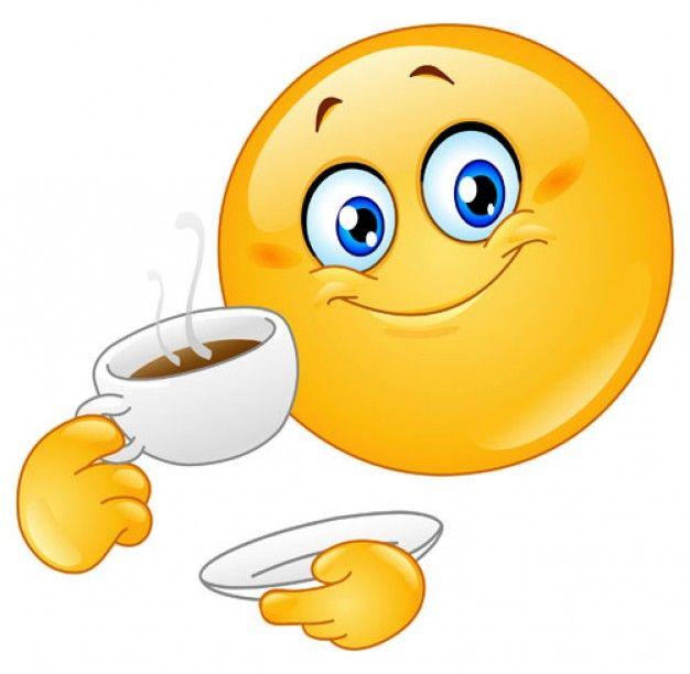 Emoticon | vettore caffè emoticon
