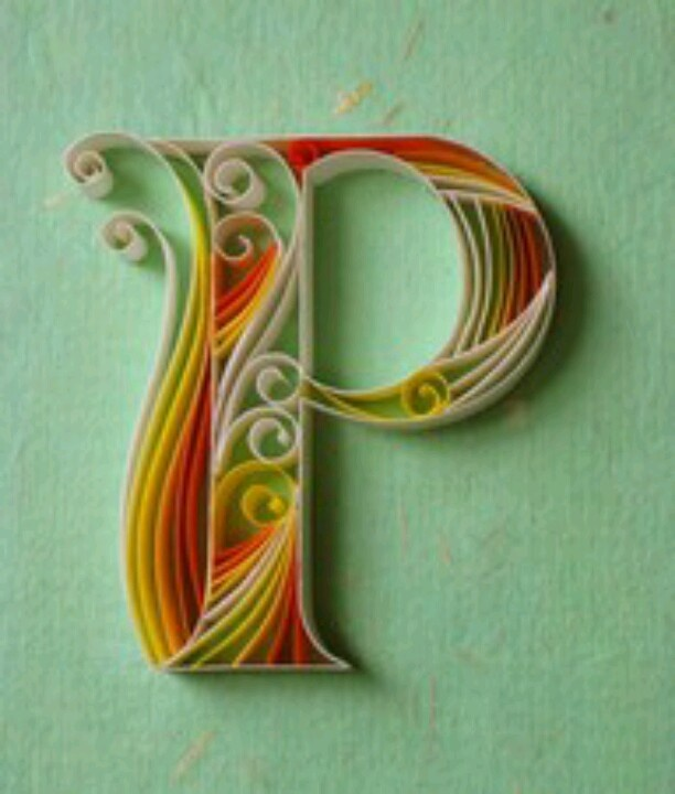 168 best images about the letter p on pinterest monogram for 24 cardboard letters