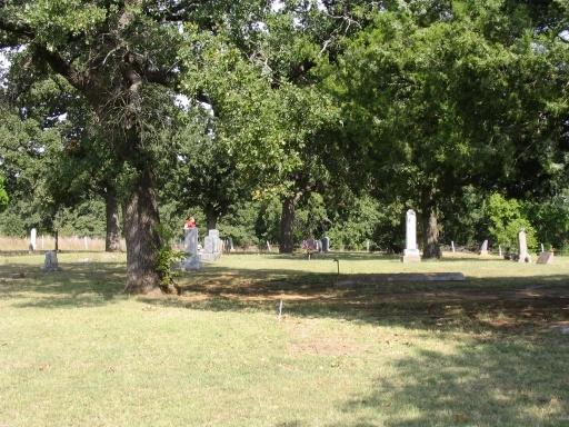 Fairlawn Cemeteries  Comanche  Stephens County  Oklahoma  USA