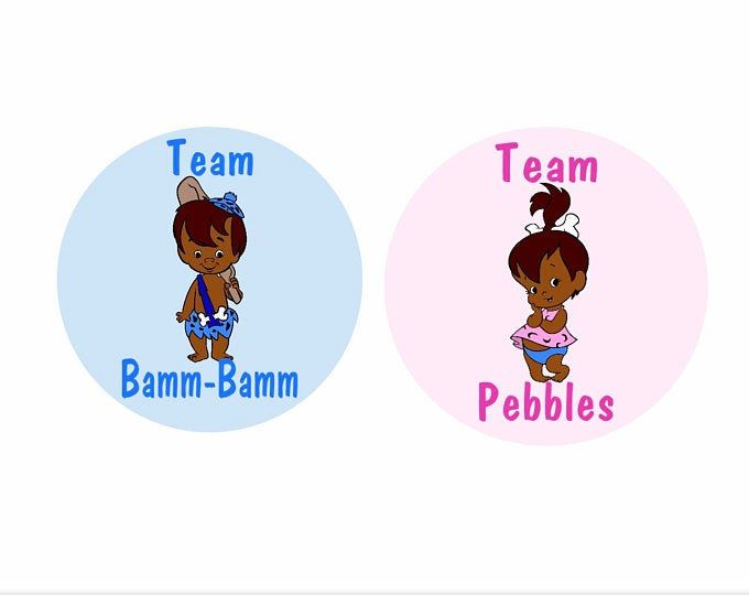 pebbles Flintstones baby shower games not editable,instant download gender reveal game set African twins printable bam bam template