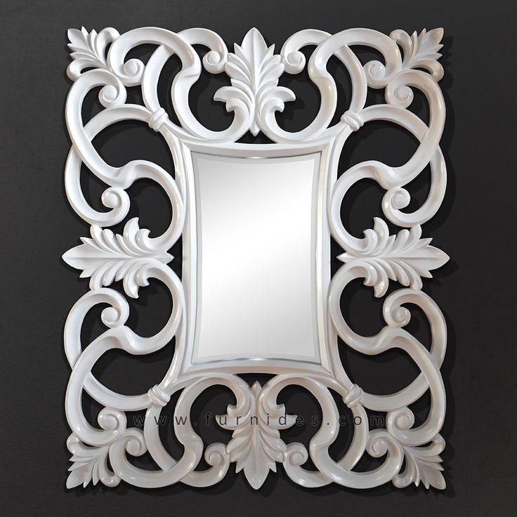 Hiasan Dinding Cermin Hias Ukiran Jepara | FurniDes.Com