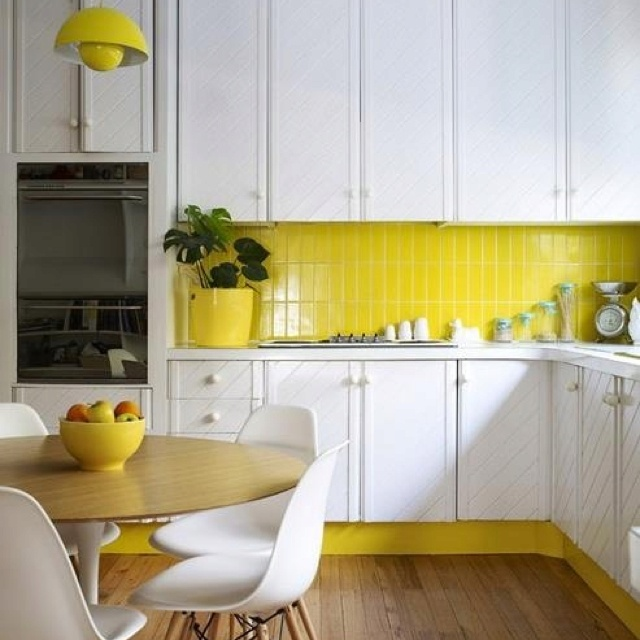 Yellow Tiles For Kitchen: 17 Best Ideas About Yellow Tile On Pinterest