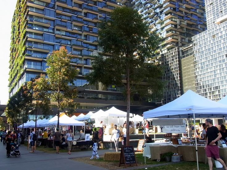 The Brewery Yard Markets in Central Park,  Chippendale in Sydney.