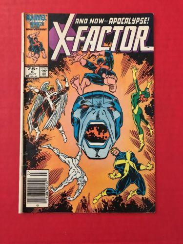X-Factor #6 1st Full App Apocalypse Marvel Comics Gd/VG