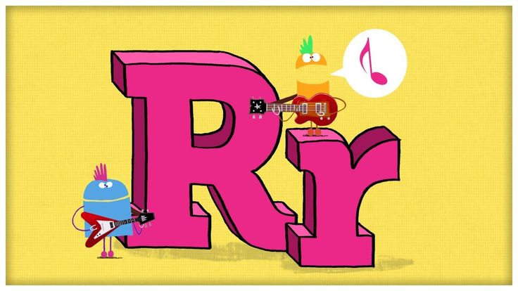 "ABC Song: The Letter R, ""Are You Ready For R"" by StoryBots"