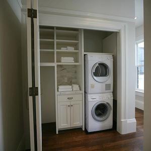 Closet Laundry Room, Contemporary, laundry room, Boor Bridges Architecture