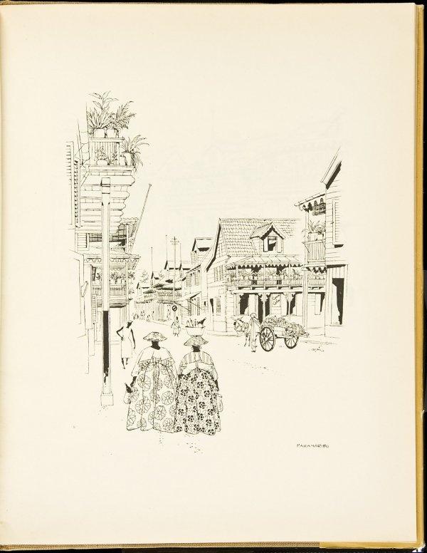 Jo Spier-West, illustrated Dutch book 1948 w/dj