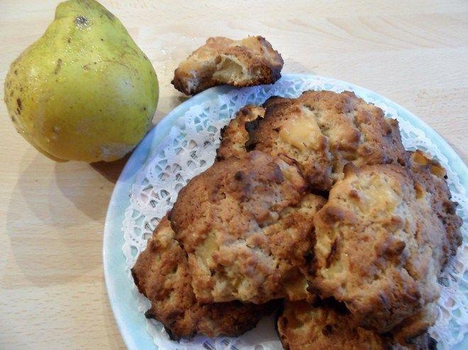 Cookies aux coings et au noix