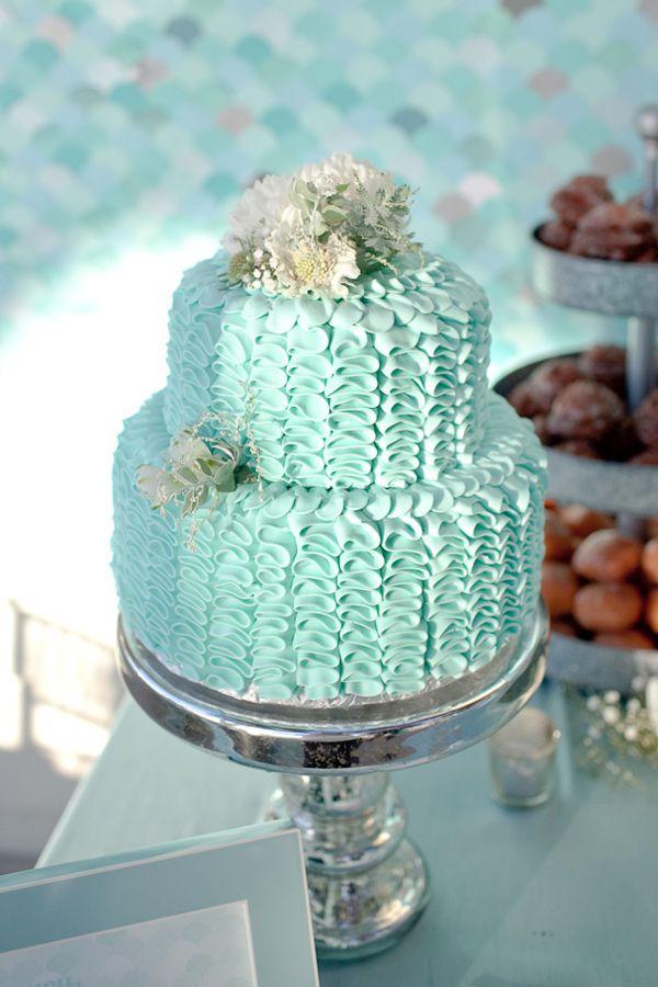 25 Best Ideas About Aqua Cake On Pinterest Pastel Blue