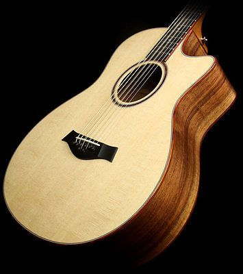 Taylor Custom Shop Bto 8 String Baritone Gs Blackwood Acoustic/electric Guitar - http://www.8stringguitar.org/for-sale/taylor-custom-shop-bto-8-string-baritone-gs-blackwood-acousticelectric-guitar/25113/