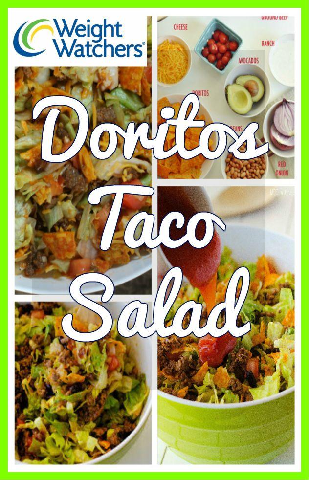 Doritos Taco Salad Weight Watchers SmartPoints 4