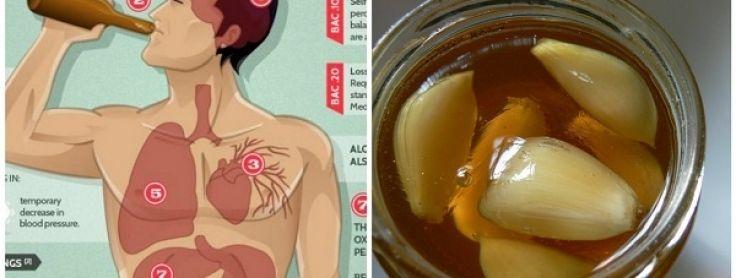 Pozrite sa čo všetko sa stane s vašim zdravím už za 1 týždeň, ak si dáte každý deň na ráno cesnak s medom.
