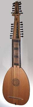 """Liuto Attiorbato This type of theorbe was designed at the end of the 16th century (probably by Piccinini) and mainly used for solo music written by Italian composers up to the end of the 17th century. So this particular model is called liuto attiorbato, after the Italian translation of """"theorbe lute""""."""