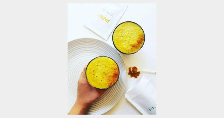 Le Golden latte, la nouvelle boisson des filles healthy