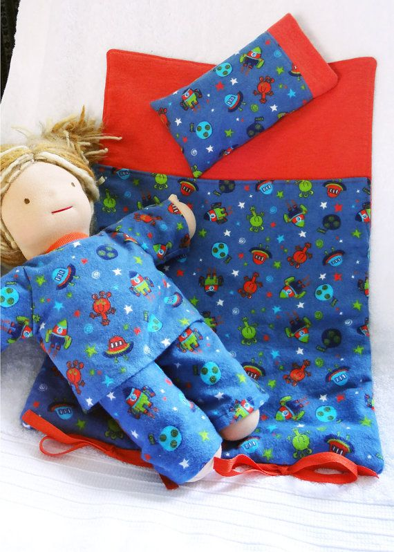 Doll sleeping bags, by #MyLittlePoppySeed, can accomodate dolls with straight arms like Bamboletta dolls.  Matching pillows included.  When not in use, sleeping bags roll up and attach with ribbons at bottom. Be sure to visit and like my Facebook page to stay tuned with events and new creations:  https://www.facebook.com/pages/MyLittlePoppySeed/111614175583229?fref=ts Here is a direct link to my Etsy shop:  https://www.etsy.com/ca/shop/mylittlepoppyseed?ref=si_shop Thanks for visiting!
