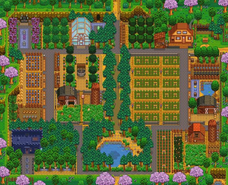 My farm Rube Valley.... and now I can finally stop playing.... until the game updates