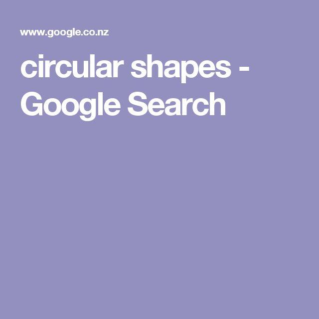 circular shapes - Google Search