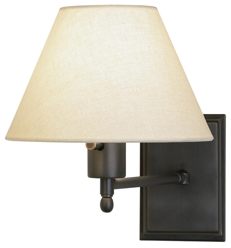 meilleur collection bronze plugin swing arm wall lamp