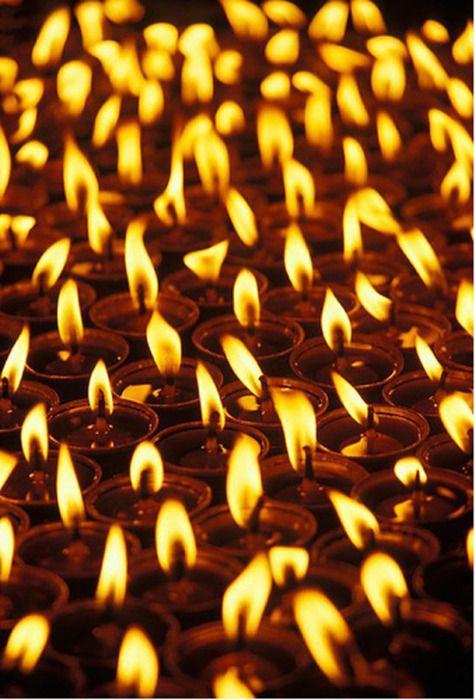 Meditation Candles, Tibet