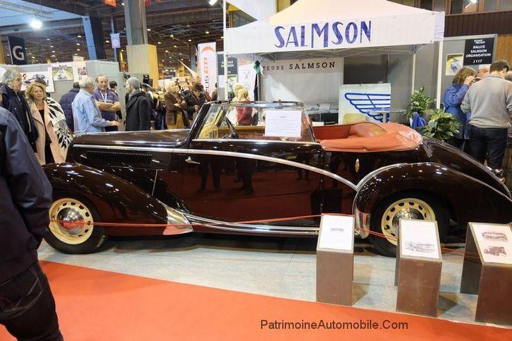 salmson s4e cabriolet de 1949 salmson pinterest cabriolet patrimoine et automobile. Black Bedroom Furniture Sets. Home Design Ideas