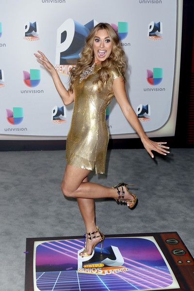 Galilea Montijo attends the Univision's 13th Edition Of Premios Juventud Youth Awards at Bank United Center on July 14, 2016 in Miami, Florida.