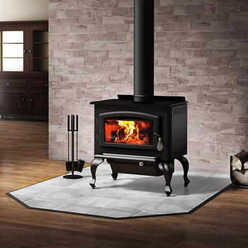 Columbia High Efficiency Wood Stove with Start-up Kit