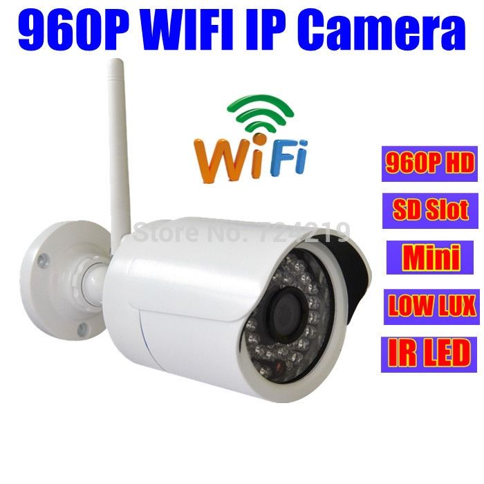 114.50$  Buy here - http://alil0t.worldwells.pw/go.php?t=32302811490 - ONVIF p2p mini 1.3 MP IP security Camera Wifi 960P HD Wireless Outdoor IR webcam Low Lux SD/TF/Micro Card Slot cctv ipcamera 114.50$