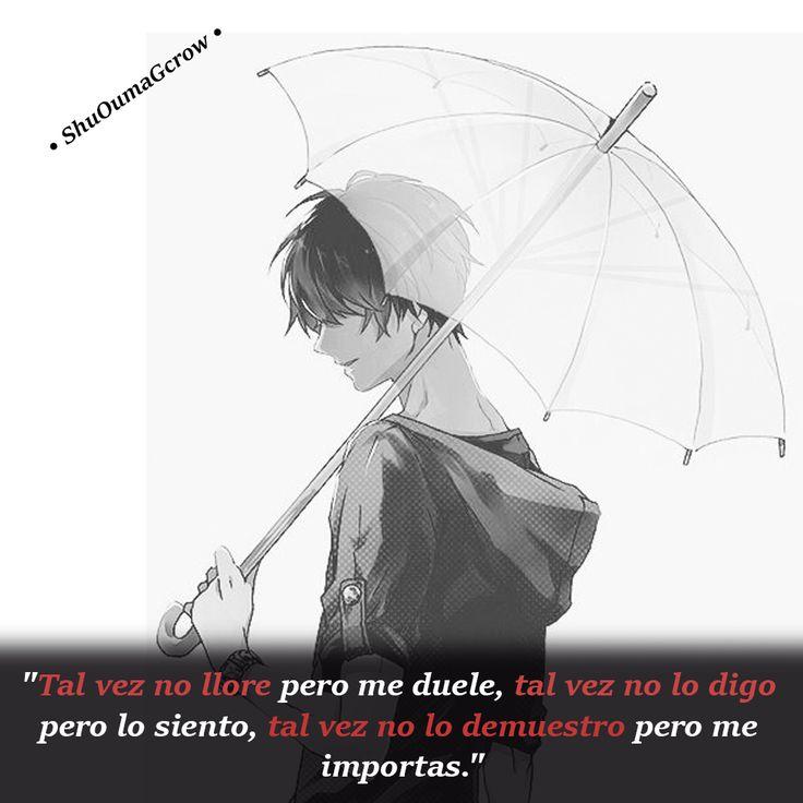 Tal vez .. #ShuOumaGcrow #Anime #Frases_anime #frases