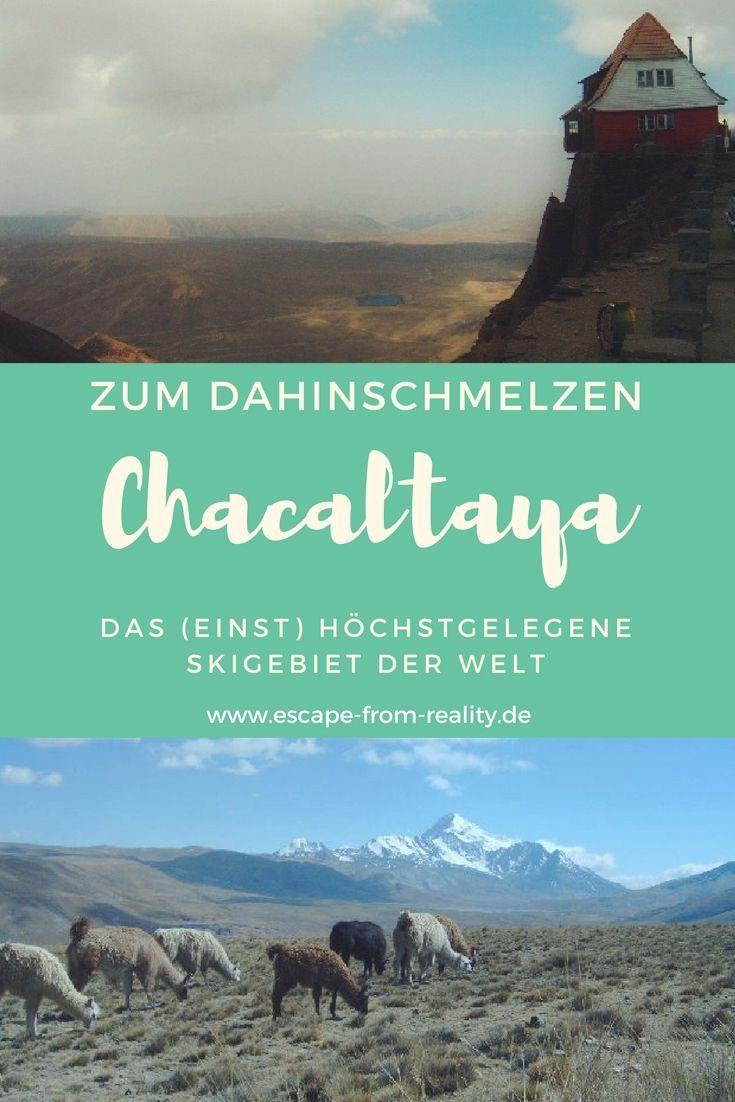 """Chacaltaya bedeutet """"Kalter Weg"""" und je höher sich unser Kleinbus die Serpentinen hoch windet, desto kälter wird es. Doch nicht kalt genug, denn die globale Erwärmung hat den Gletscher des einst höchst gelegenen Skigebiets der Welt weggeschmolzen. Dennoch zählt der 5.395 m hohe Berg zu den beliebtesten Tageszielen rund um La Paz. Und das zu Recht, denn wo sonst hat man die Möglichkeit, relativ einfach die Anden in dieser Höhe zu erleben?! #chacaltaya #bolivien"""