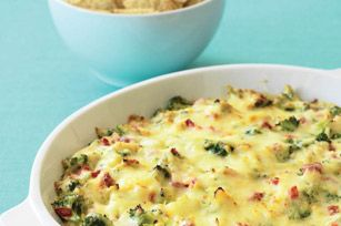 Zesty Hot Holiday Broccoli Dip recipe
