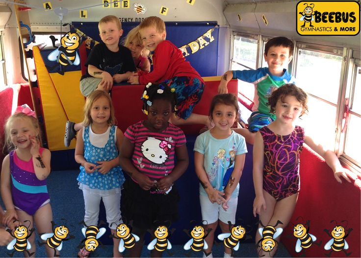 "We had a great time at Lilly A.'s birthday party yesterday! Here's an example of our ""Keepsake Photo"" we offer in our Birthday Party packages! Interested in booking a birthday party or event with BEEBUS? Email us at info@beebus.com for scheduling!"