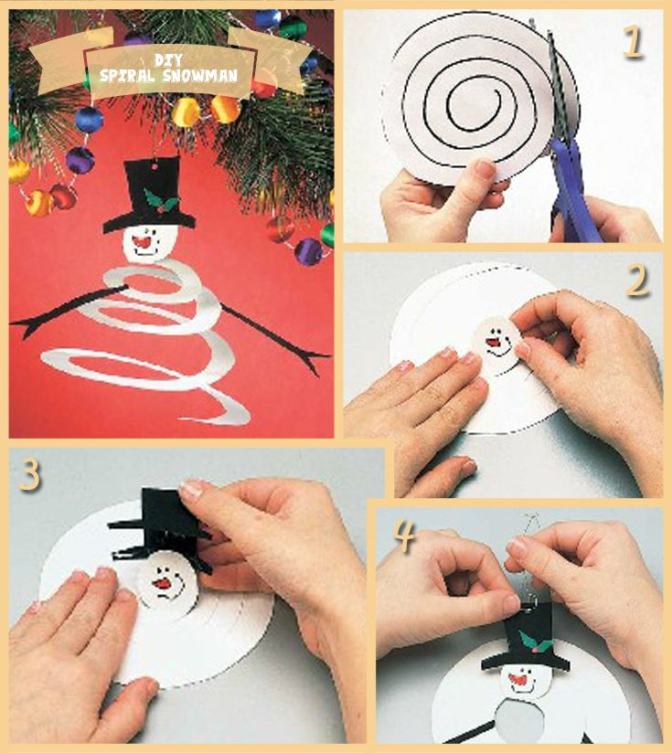 DIY Spiral Ornament Tutorial