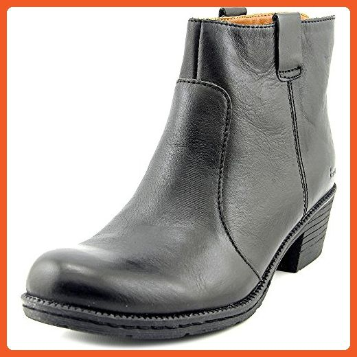 B.O.C Womens Cardenas Closed Toe Ankle Cowboy & Western Boots, Black, Size 8.5 - Boots for women (*Amazon Partner-Link)