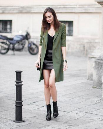 casacos verde militar