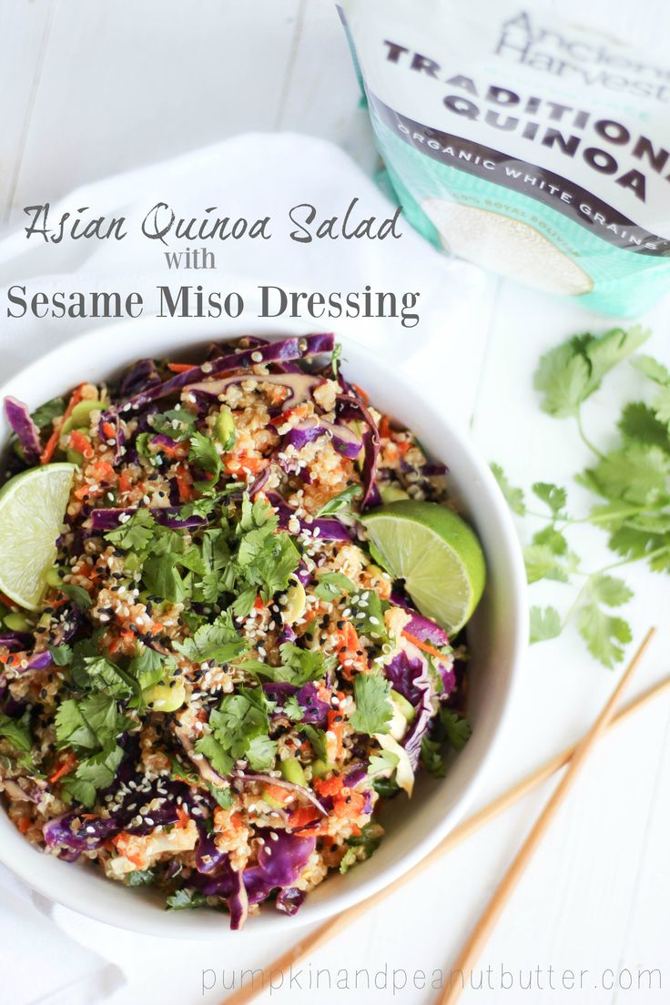 Chicken Salad With Sesame-Miso Dressing Recipe — Dishmaps