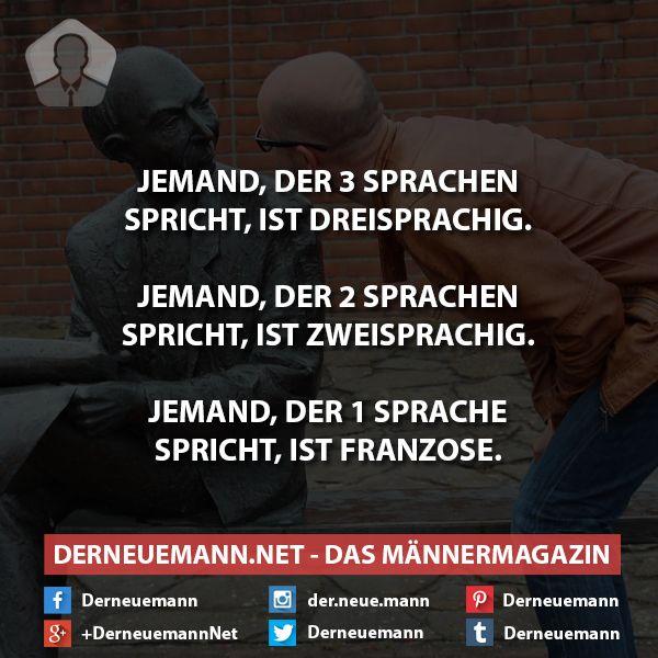 Sprachen #derneuemann #humor #lustig #spaß #sprüche #sprachen