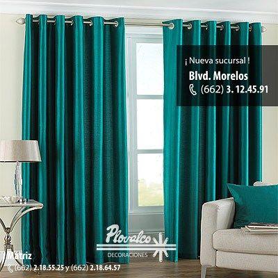 Las cortinas son excelentes para cubir grande ventanas y protejernos de sol de verano plovalco - Cortinas para el sol ...