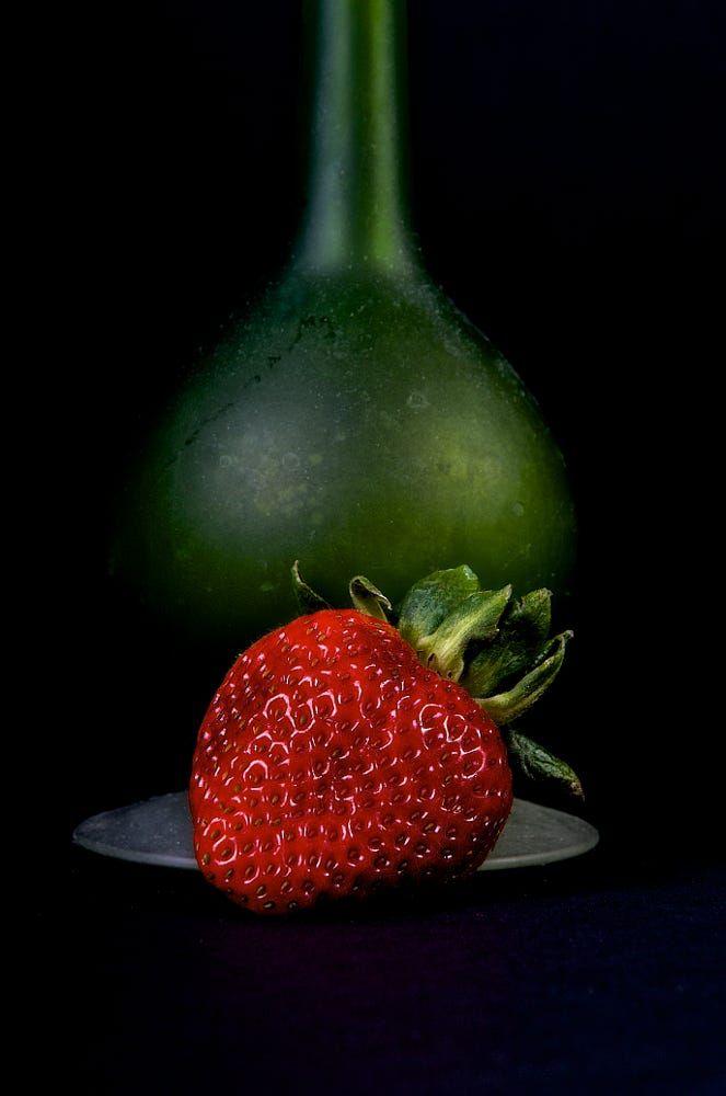 Strawberry and vase by Jeffrey Sinnock on 500px
