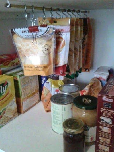 小袋 収納 キッチン