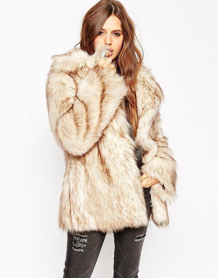 28 best Faux Fur images on Pinterest | Furs, Faux fur coats and ...