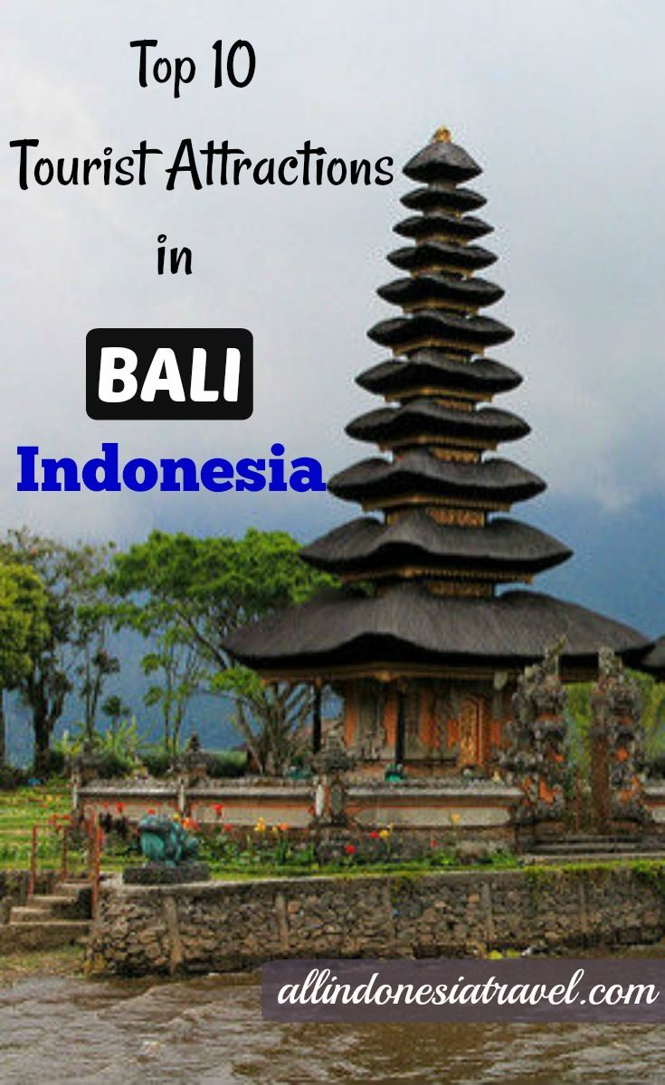 tourist attractions bali travel guide