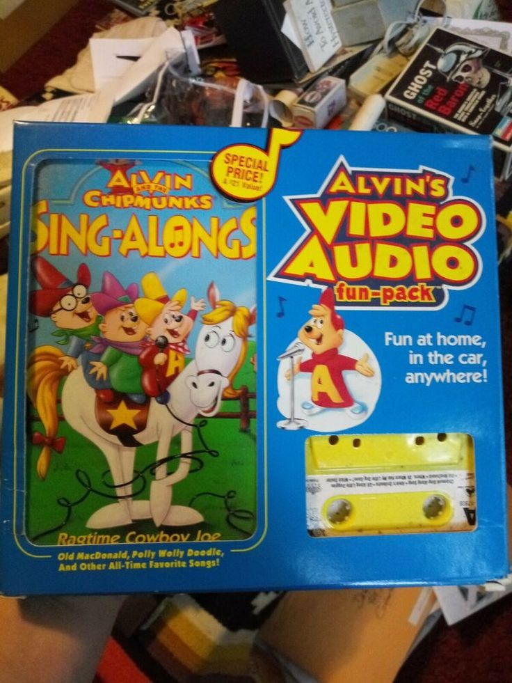 Details about alvin and the chipmunks videoaudio funpack
