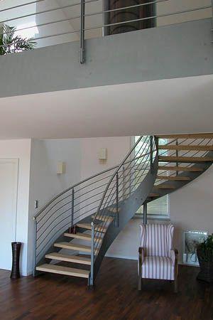 Die besten 25+ Stahltreppen Ideen auf Pinterest Stahltreppe - ideen moderne designtreppen individuellen wohnstil