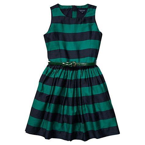 Buy Tommy Hilfiger Spectator Stripe Dress, Shady Glade Online at johnlewis.com