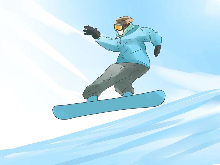 приезжают мультяшные картинки сноубордиста карманами называют образовавшиеся