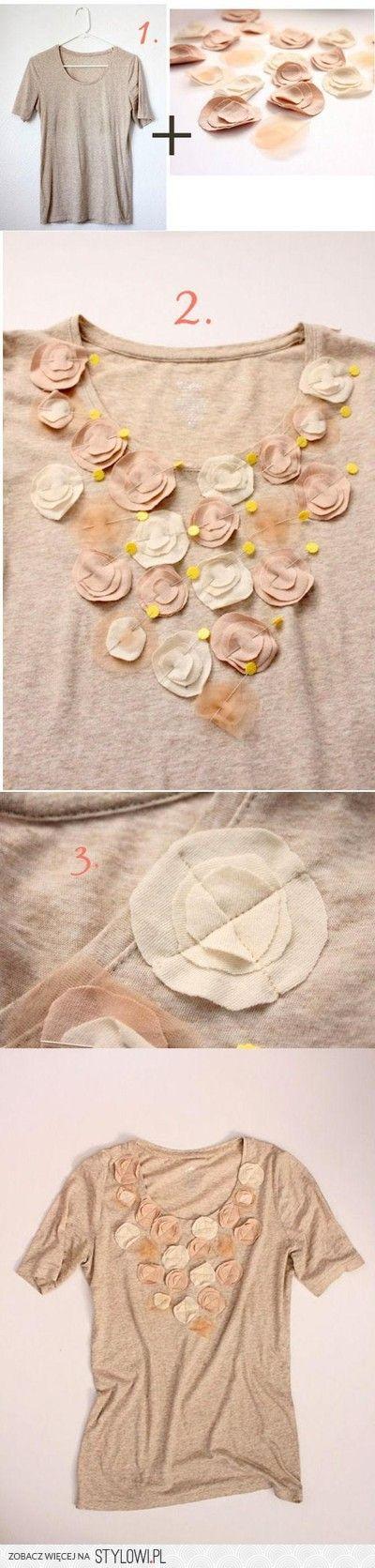 Przeróbki ubrań - DIY - inspiracje! CZĘŚĆ 1