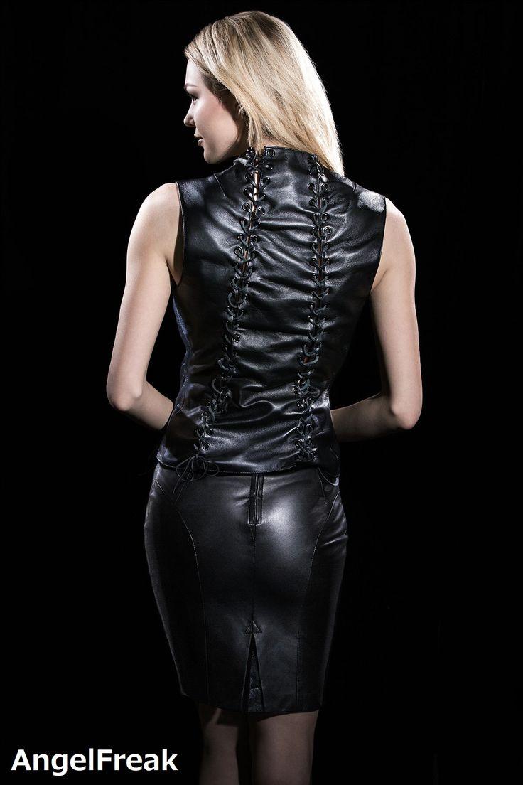 Pin von Guy auf LeatherDress | Leder, Reife damen, Damen