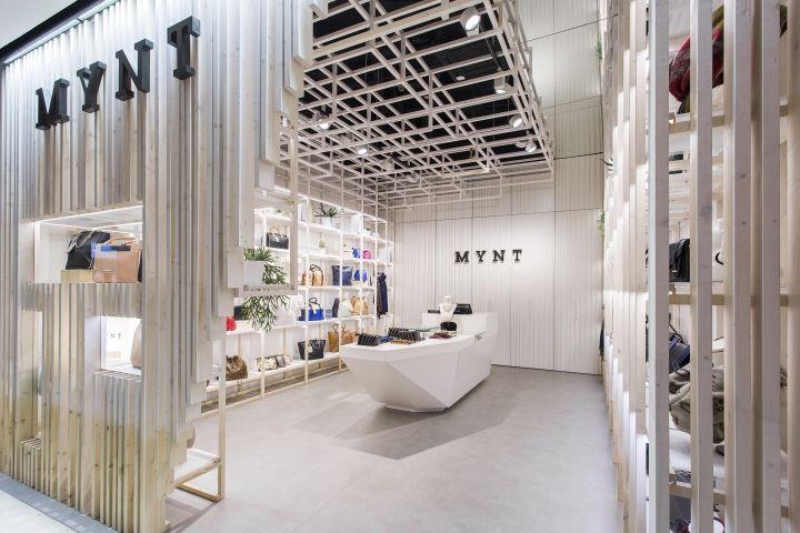 Mynt Flagship Store by Dear Design, Barcelona – Spain